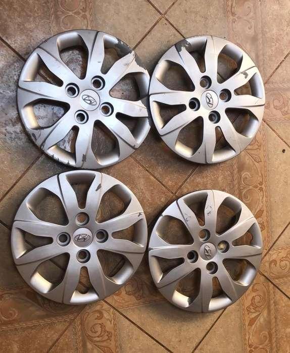 Tapas de Aros 13 Originales Hyundai