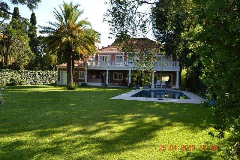 Excelente casa en alquiler en San Isidro LA HORQUETA, 5 dorm 6 baños gran parque