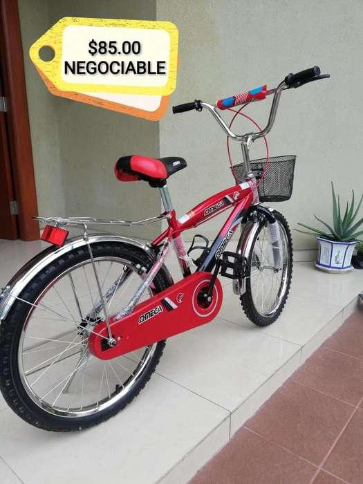 De oportunidad Bicicleta de niño nueva