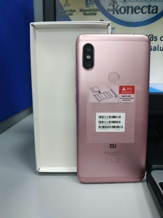 Vendo Note 6 Pro en Caja Color Rosa