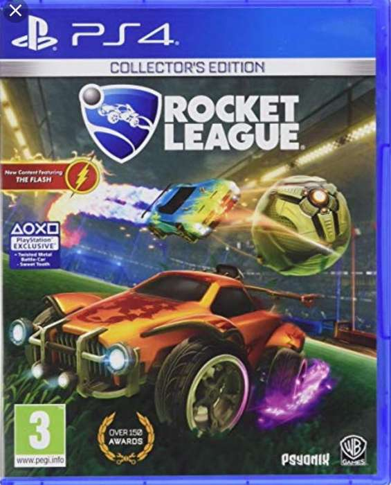 Vendo Juego Rocket League para Ps4