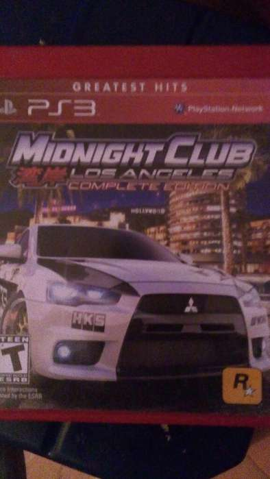 Midnightclub Los Angeles Playstation 3