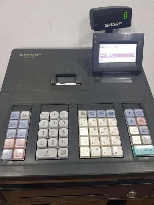 Vendo Caja Registradora Sharp Xe A207