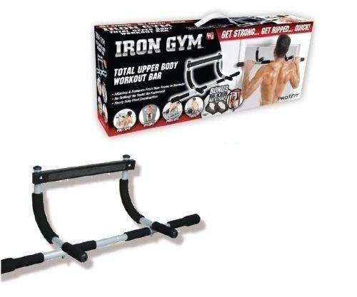 Iron Gym Barra Gimnasio Puerta Piso Musculos Tonifica Molde