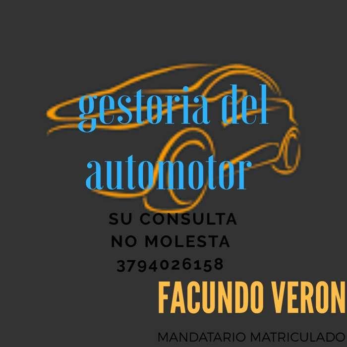 Gestoria Del Automotor Y Motovehiculos