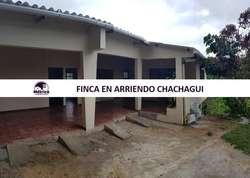 02FA CASA EN ARRIENDO CHACHAGUI