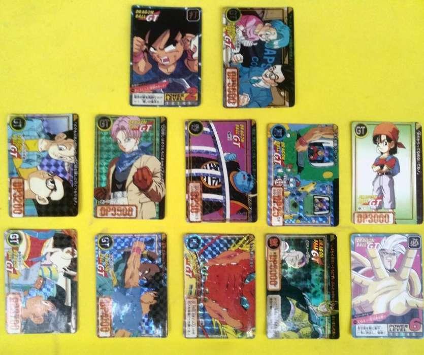 Vendo Trading Cards Dragon Ball
