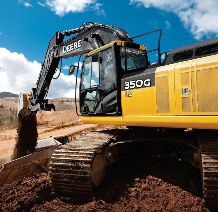 EXCAVADORA JOHN DEERE 350 M160301