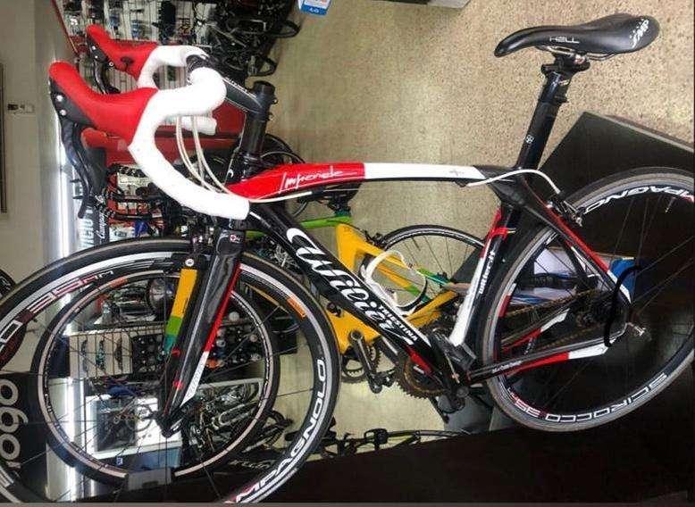Bicicleta Wilier Trestina carbono talla 51 (small)