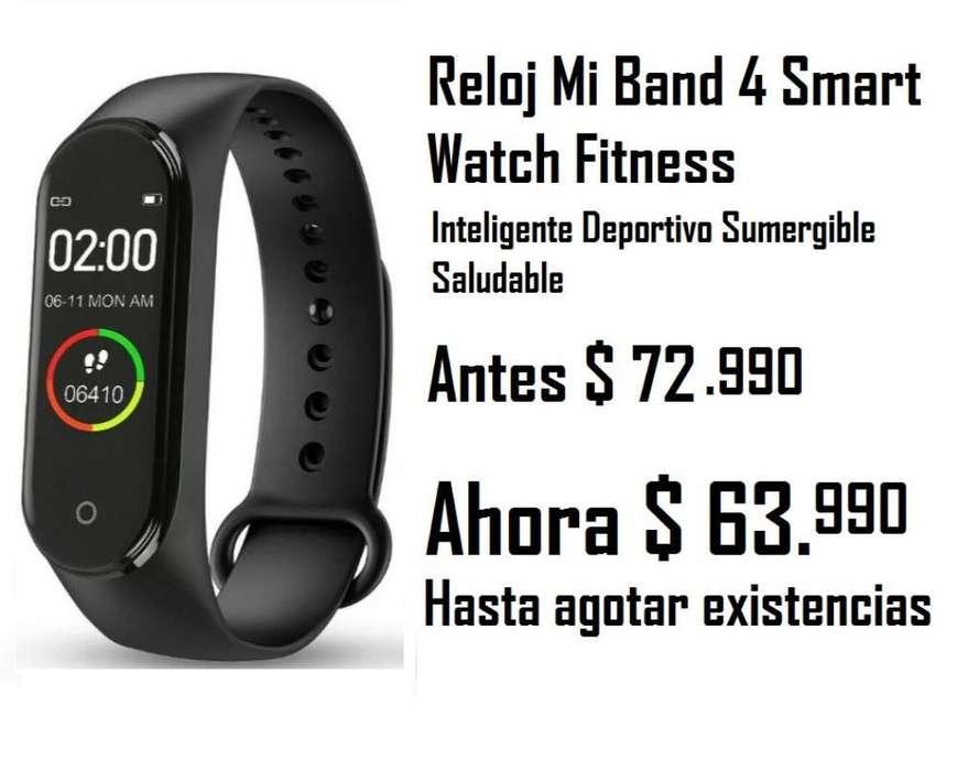 Reloj Mi Band 4 Smart Watch Fitness M4