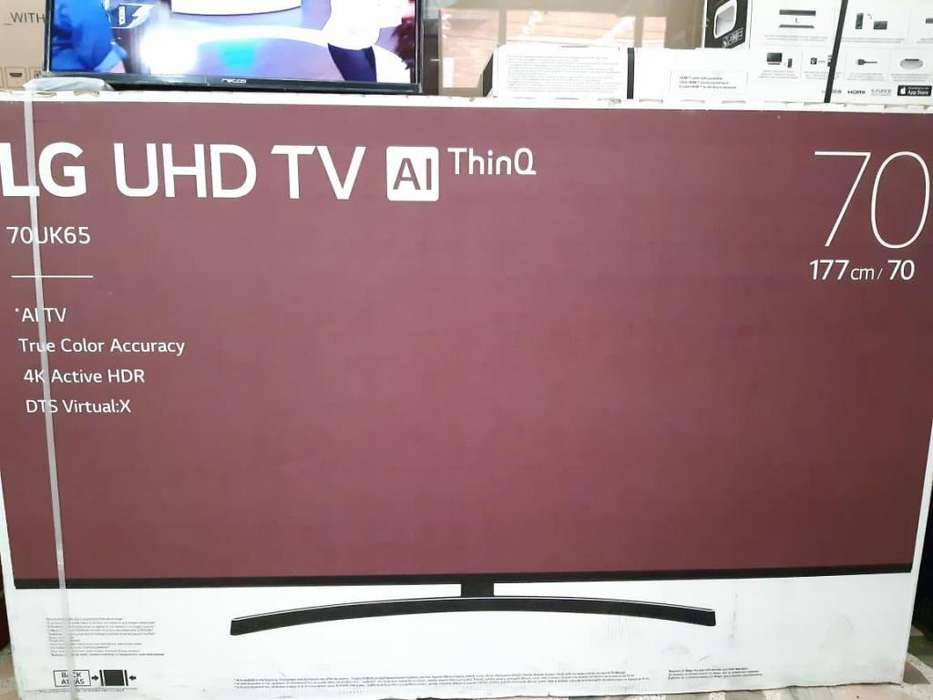 <strong>televisor</strong> LG 70 UHD 4K SMART TV