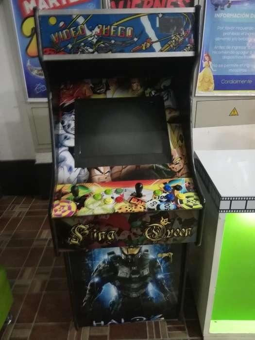 Vendo Maquina Arcade Tekino