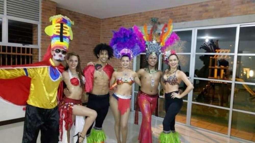 Bailarines en Medellin Eventos Clases
