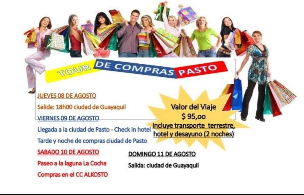 Tour a Pasto - Colombia Agosto/2019