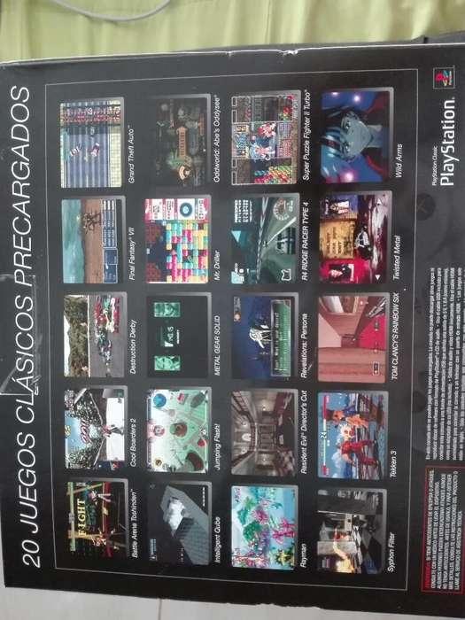 Consola Play Station Clasica Nueva