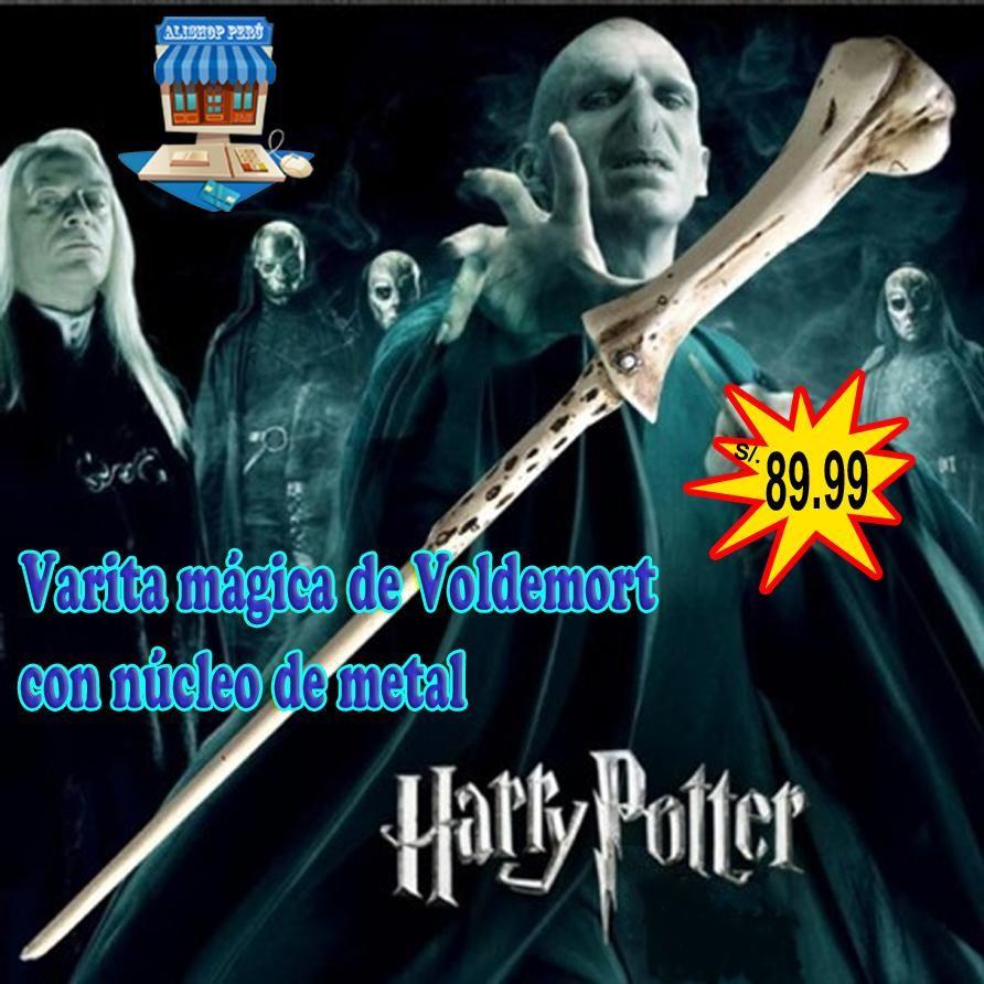 Varita mágica de Lord Voldemort con núcleo de metal