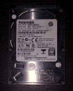 Disco Duro 750GB Para portatil 85.000 TOSHIBA