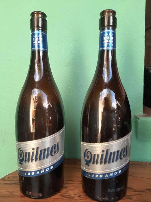 Botellas Quilmes Aniversario 120 Años