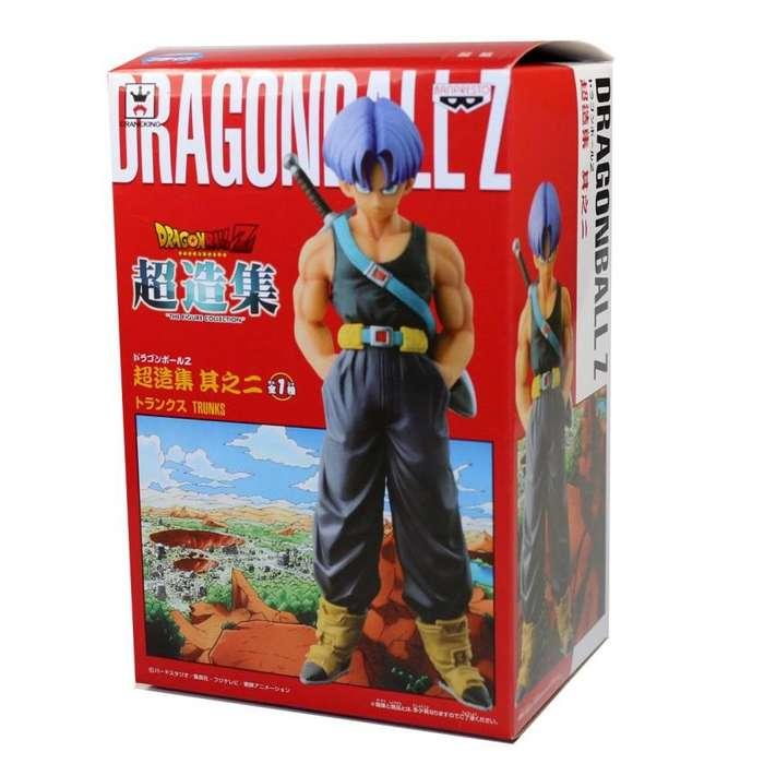 Figura Coleccion Dragon Ball Z Trunks Del Futuro