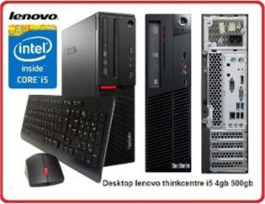 Torre Core I5 4g Ram 500hdd Flamante