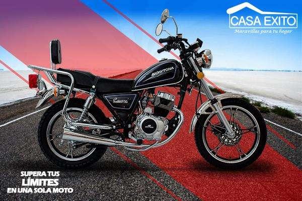 Moto Daytona Crucero DY150 150cc Año 2019 Color Negro / Rojo / Azul Casa Éxito
