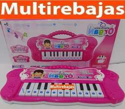 Hermoso Piano Musical Juguete
