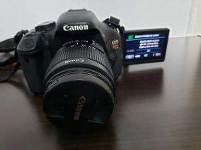 CAMARA PROFESIONAL CANON T3 I IDEAL PARA VIDEO Y FOTOGRAFIAS