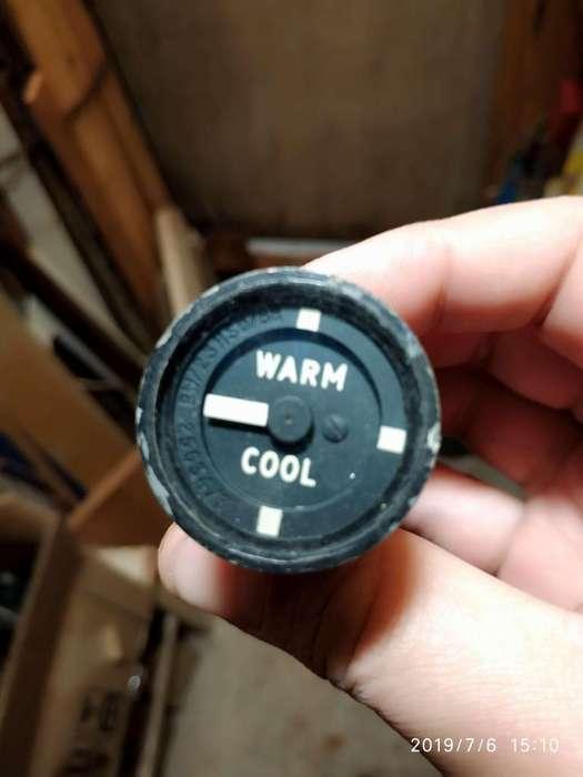 Instrumental De Avion Indicador de temperatura