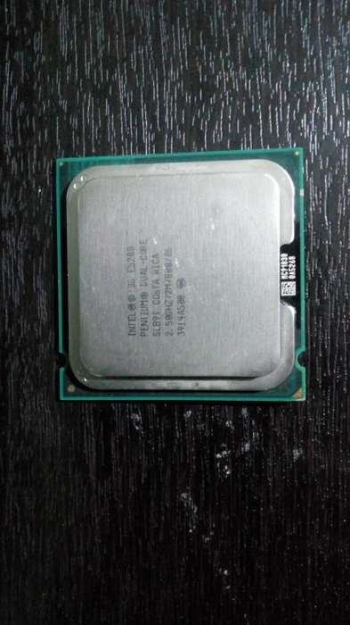 Vendo Pentium Dual Core E5200