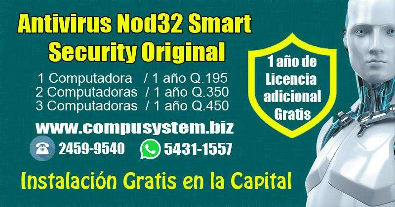 Antivirus Nod 32 Smart Security Original