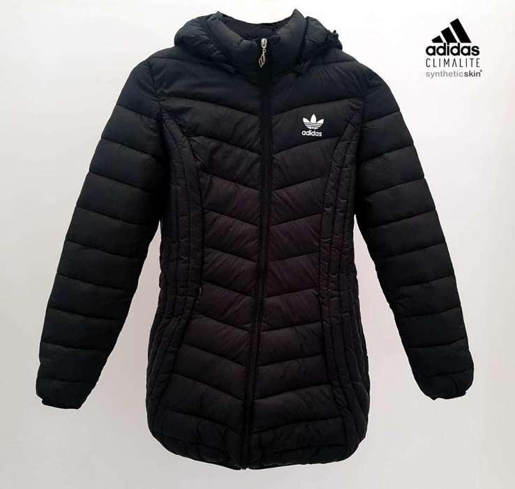 Camperones Adidas Climalite inflados - <strong>interior</strong> de piel sintética!