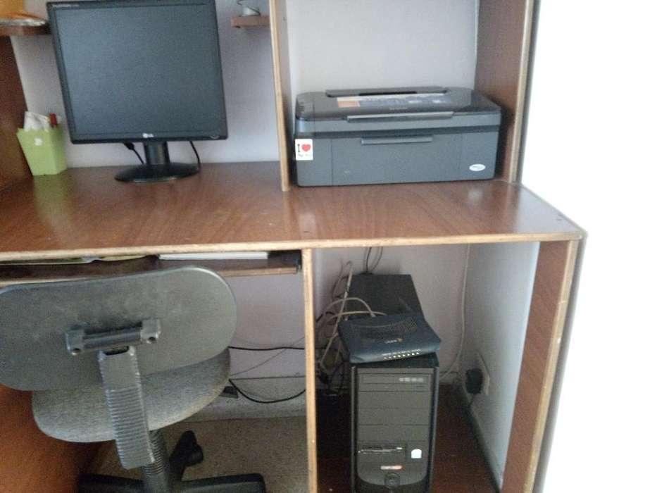 Se Vende Computador de Mesa Impresora