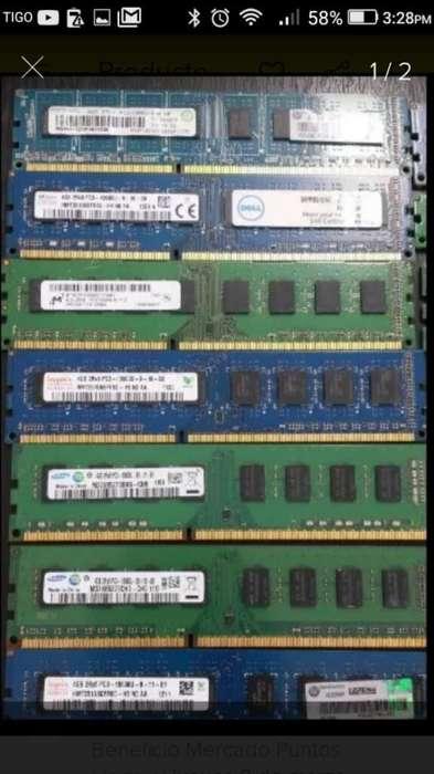Memoria de Pc de Segunda Dr3 de 2y 4gb