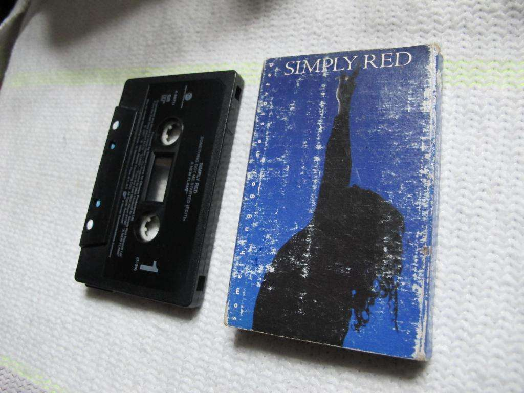 Simply Red – Something Got Me Started - Cassette USA