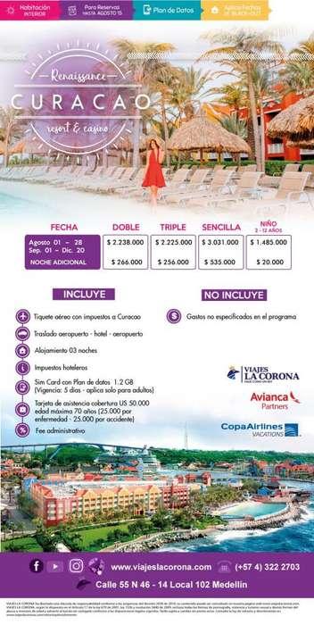 Viaje como un Rey a Curacao H.Renaissance Curacao Resort & Casino con Viajes la Corona agosto