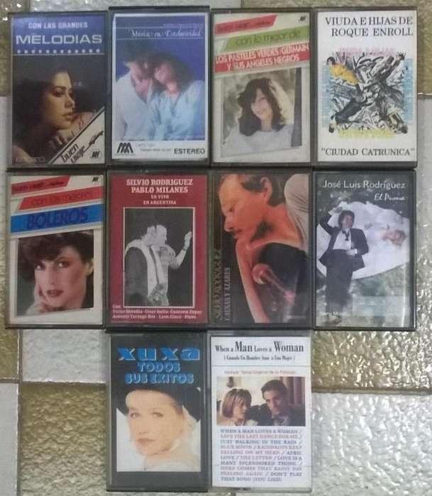 Cassettes Originales De Varios Artistas