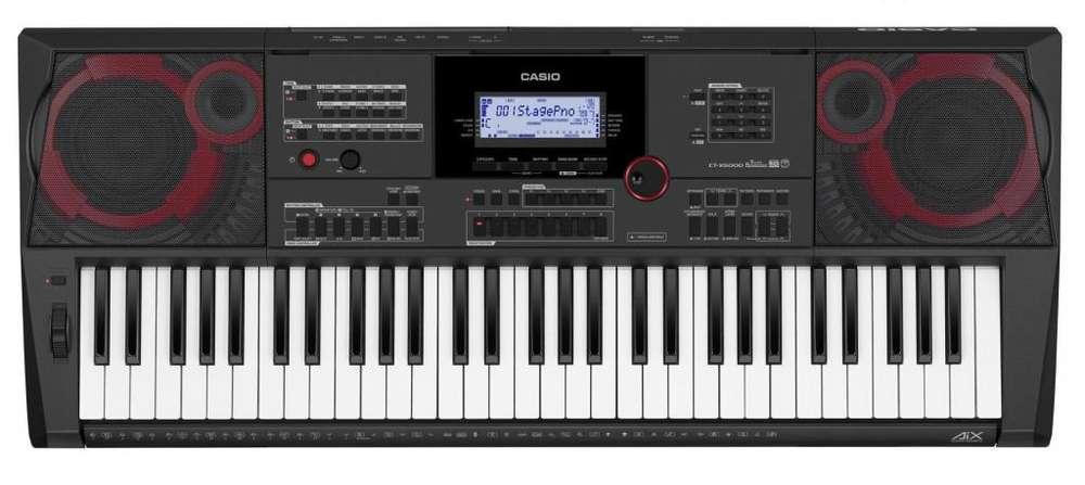Piano Casio CT-X5000 Organeta teclado 5 octavas 61Teclas