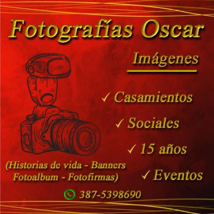 Fotografia de Eventos Sociales