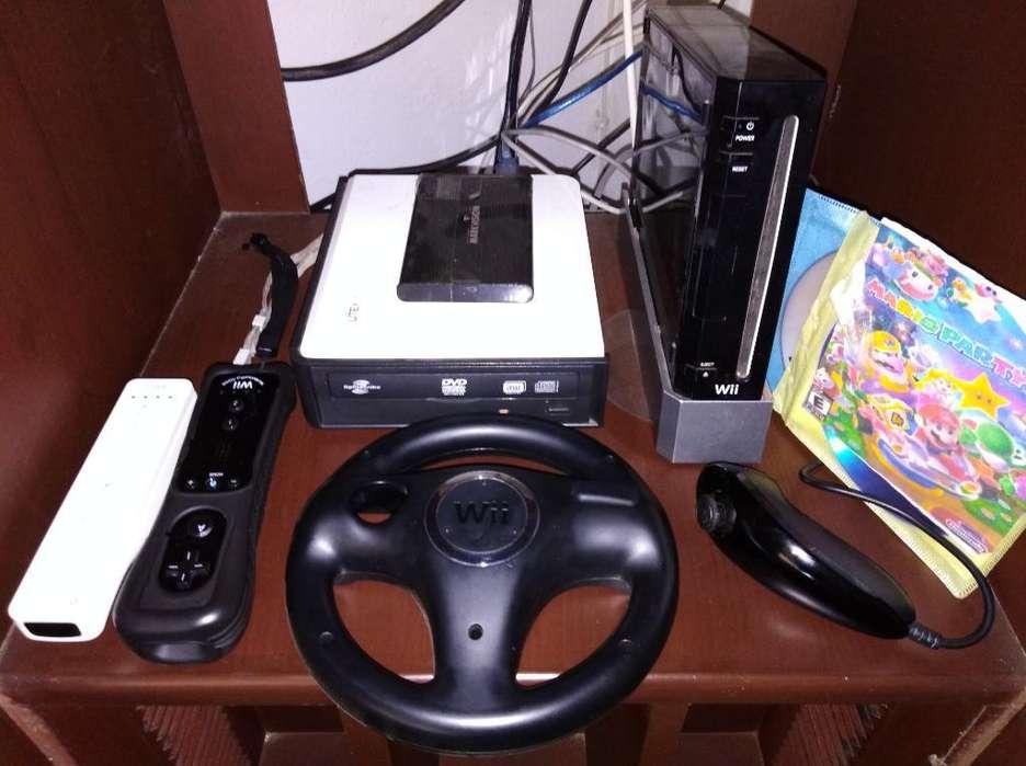 Ganga Nintendo Wii con Más de 40 Juegos
