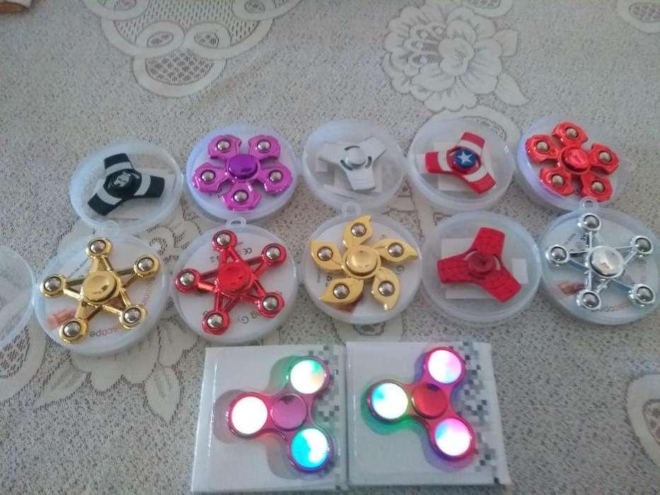 Spiners Metalicos Y con Luces