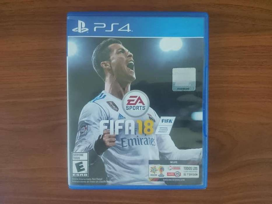 FIFA 18 de Play 4, PS4