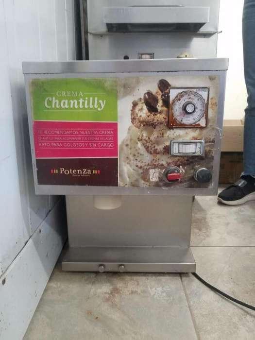 maquina expendedora de crema