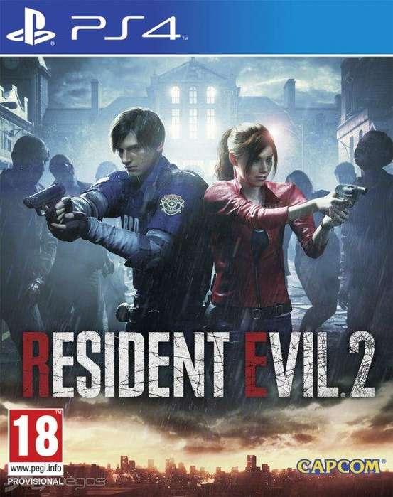 Resident Evil 2 Remasterizado Version Digital Para PS4