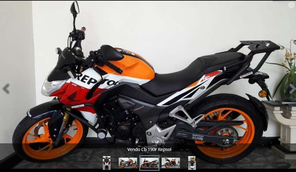Vendo Fantástica Moto, Honda Cb 190r, Leer info