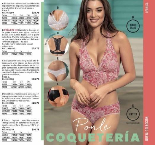 a2a027375142d Conjunto Leonisa Bralette y cachetero - Quito