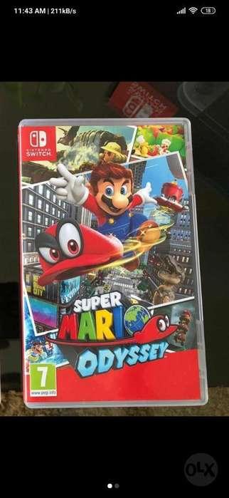 Vendo Mario Odyssey