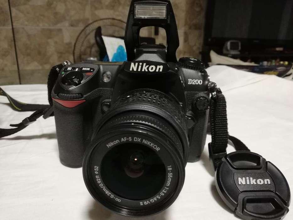 Cámara Digital Nikon D200