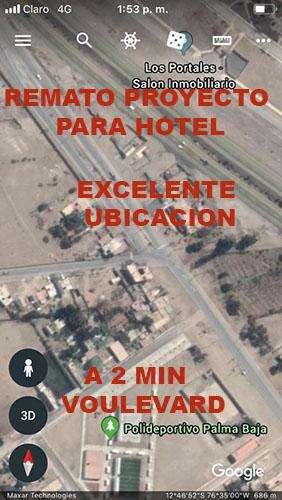 REMATO EDIFICIO PROYECTADO PARA HOTEL ASIA