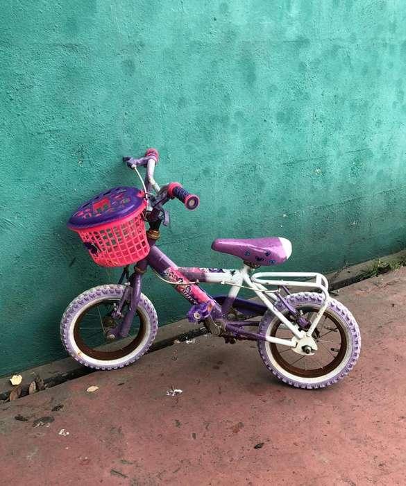 Bicicleta Niña hasta 4 Años