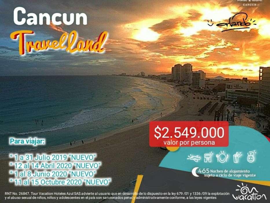 Cancun con Todo Incluido